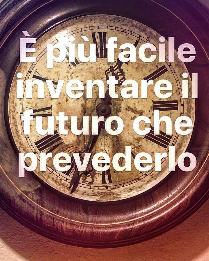 Il futuro non si inventa da solo